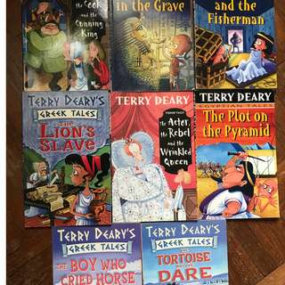 Terry Deary fun storybooks