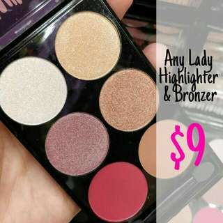 Any lady Highlighter & Bronzer