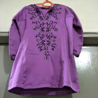 For sale preloved Baju Kurung Kid