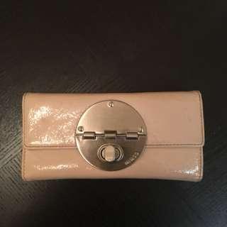 Mimco Pastel Pink Patent Wallet