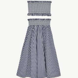Two Piece Gingham Top and Skirt (Zara Inspired)