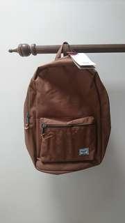 Herschel settlement backpack in Caramel