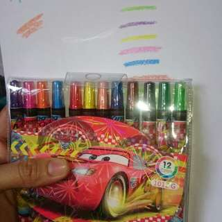 ON HAND 12pcs twistable crayons (big size)
