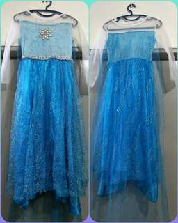 For sale preloved frozen dress 👗
