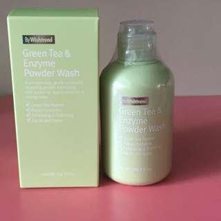 Green Tea and Enzyme Powder Wash