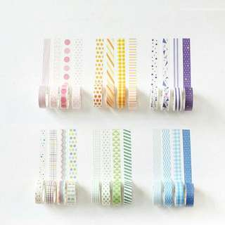 [PO] 4-piece Washi Tape Set