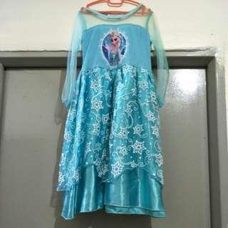 For sale preloved Frozen dress 👗