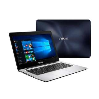 Kredit Laptop ASUS NB A456UQ Core i7 Tanpa Kartu Kredit