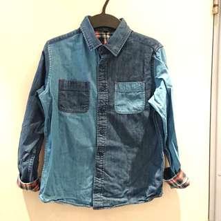 Boy's denim shirt size 150