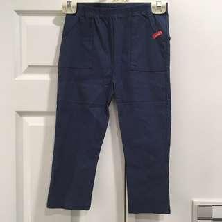 轉賣)藍色內搭七分褲