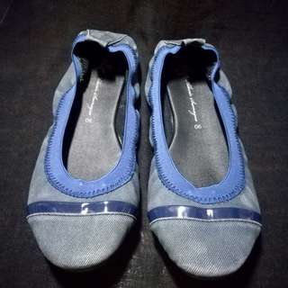 Denim Doll Shoes