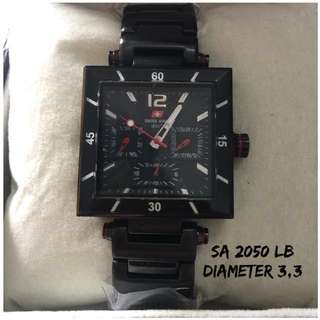 Jam Tangan Original Merk SWISS AR—MY  Seri 2050 LB diameter 3,3