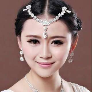 Asesoris jewelry frontlet clip side on