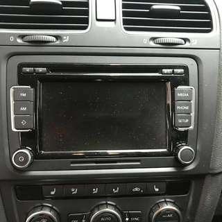 Volkswagen Genuine RCD510 + Bluetooth module
