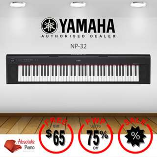 YAMAHA Piaggero Keyboard NP-32