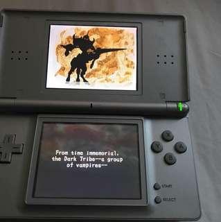 Nintendo ds with lunar (original)