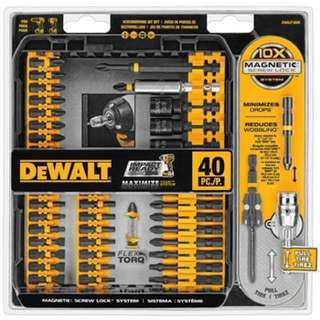 Dewalt Impact Ready Flextorq Screw Driving Set 40 pieces dwa2t40IR