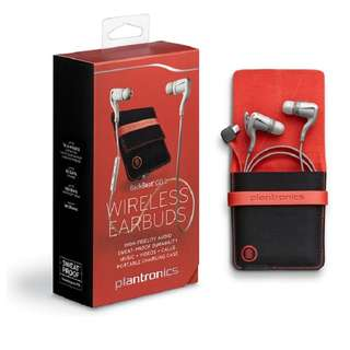 Plantronics BACKBEAT GO 2 Wireless Earbuds + Charging Case [WHITE]