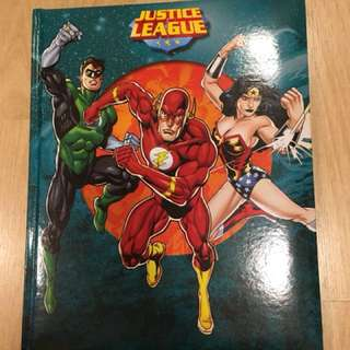 Justice league kid's story book