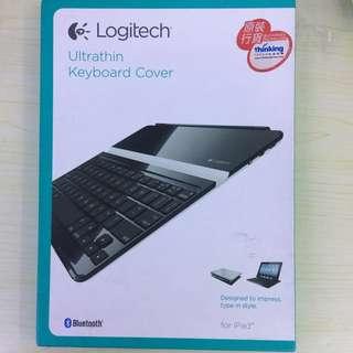 Logitech Ultrathin keyboard cover for ipad2 iPad 3 & iPad 4 iPad 5羅技藍牙無線鍵盘