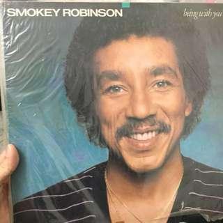 Smokey Robinson vinyl record