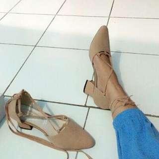 sepatu heels ballerina