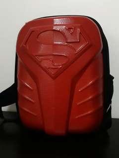Simple dimple superman baby bag