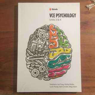 Edrolo VCE PSYCHOLOGY 3/4 Workbook