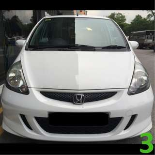 1 Week Contract Honda Jazz / Fit @ $330