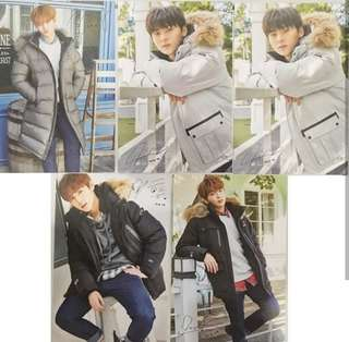 WANNA ONE Eider Postcards