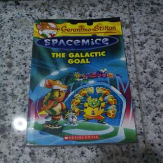 Geronimo Stilton Spacemice The Galactic Goal