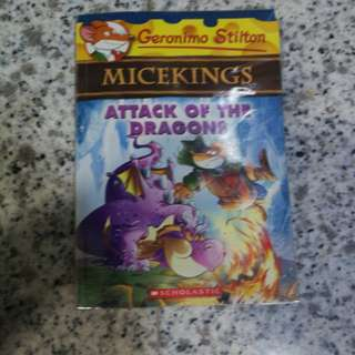 Geronimo Stilton Micekings Attack Of The Dragons