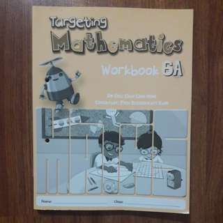 Targeting mathematics workbook 6A