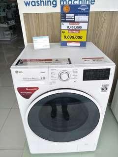 Mesin Cuci LG Front Loading 8KG Bisa Dikredit Tanpa Dp