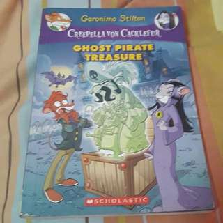Geronimo Stilton Creepella von Cacklefur Ghost Pirate Treasure