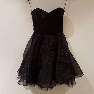 Lipsy Black Dress Size 6