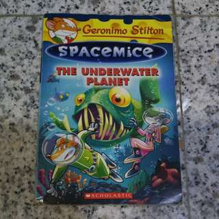 Geronimo Stilton Spacemice The Underwater Planet