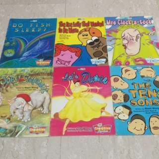 EPB Creative Readers - Books (25 issues)