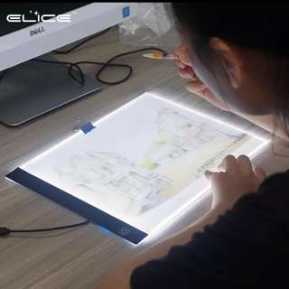 LED Blacklight Pad Tablet Drawing Instock #contiki2018