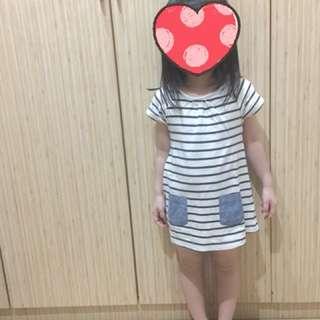 Next ori stripe dress