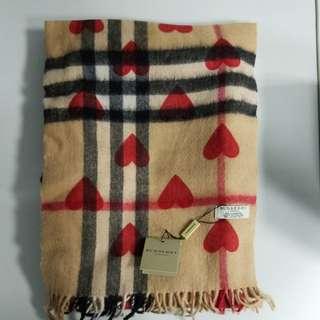 ♥️情人節精選♥️ Burberry scarf 頸巾