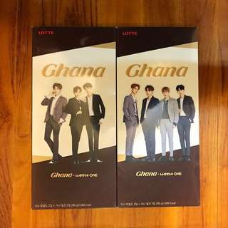 Wanna One Ghana 大朱古力