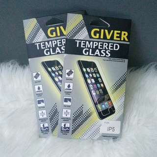 Giver Tempered Glass untuk iPhone 5