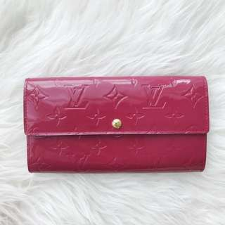 Preloved Louis Vuitton Vernis Sarah Wallet