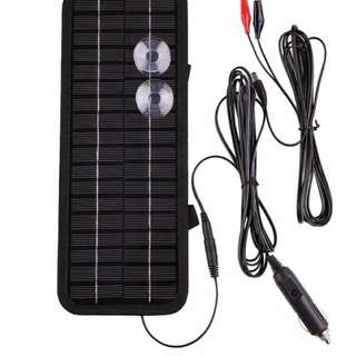 Solar Powered CAR Battery Charger