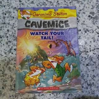 Geronimo Stilton Cavemice Watch Your Tail!