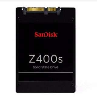 """SanDisk Z400S series128GB 256GB 2.5"""" SATA3 6Gb/s SSD 95%NEW"""