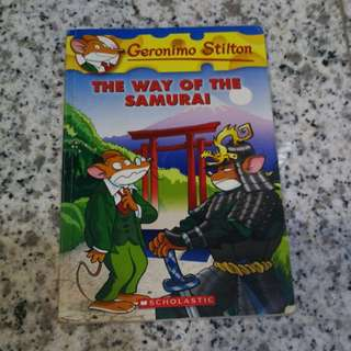 Geronimo Stilton The Way Of The Samurai