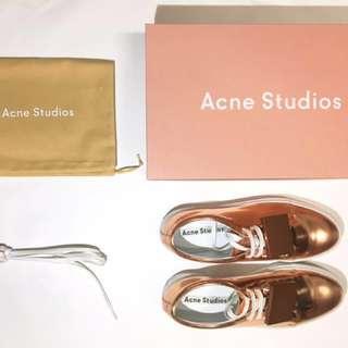 Acne Studios Adriana Sneakers in Copper