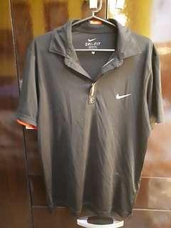 Nike Drifit Polo Shirt - Black
